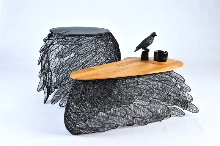 feather table by Apiwat Chitapanya from MOCO